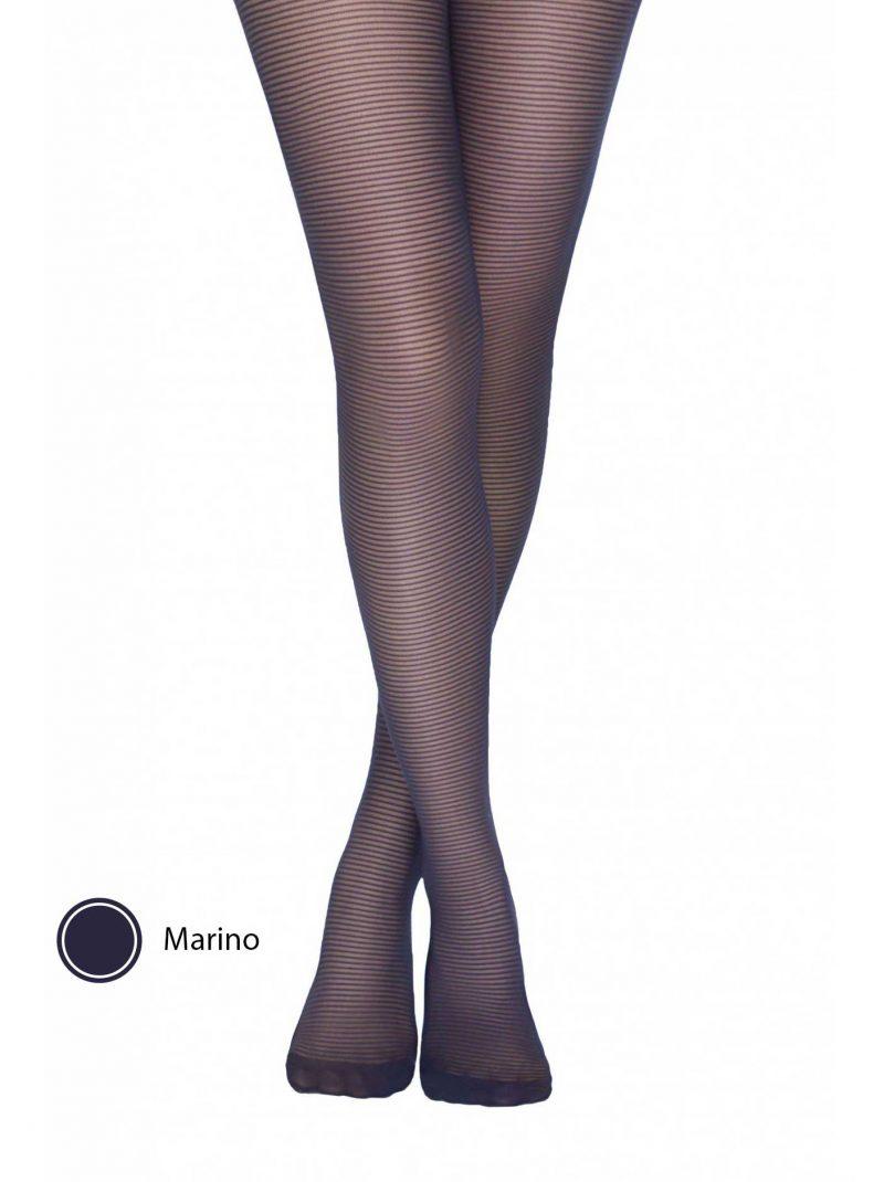 Conte Alliance fantasiepanty met strepen voorkant marino