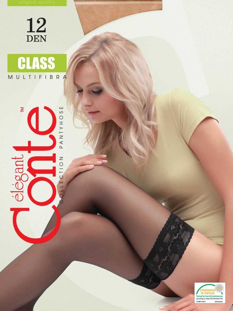 Dunne kousen Conte Class 12 denier