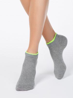 korte sokken dames Conte Active 035 lichtgrijs