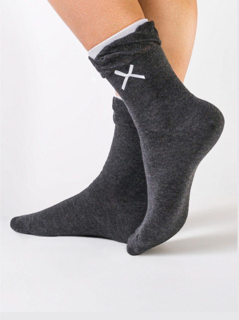Damessokken met strikjes Conte Comfort 037 lace bow sock