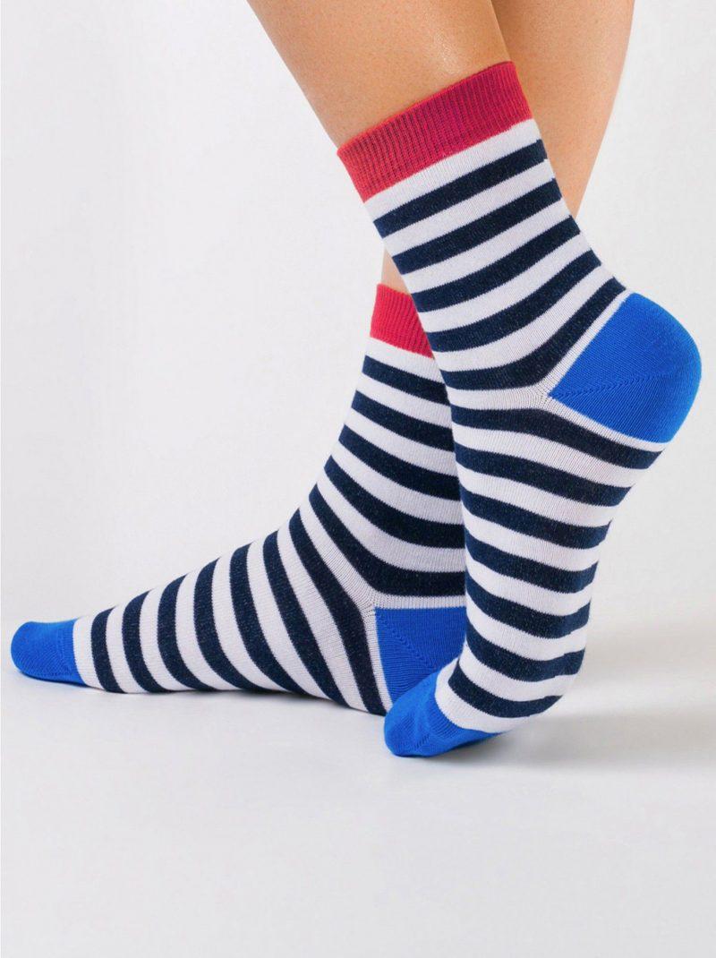 gestreepte damessokken Classic 087 stripe sock