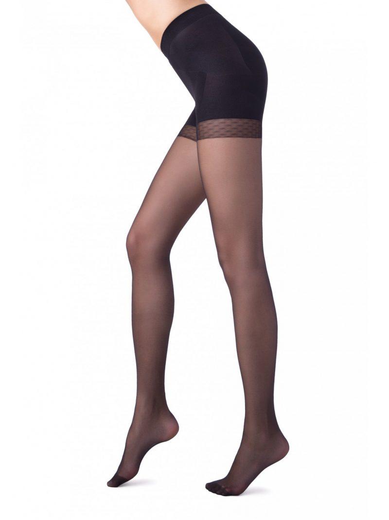 Conte X-PRESS 20 denier corrigerende panty zwart