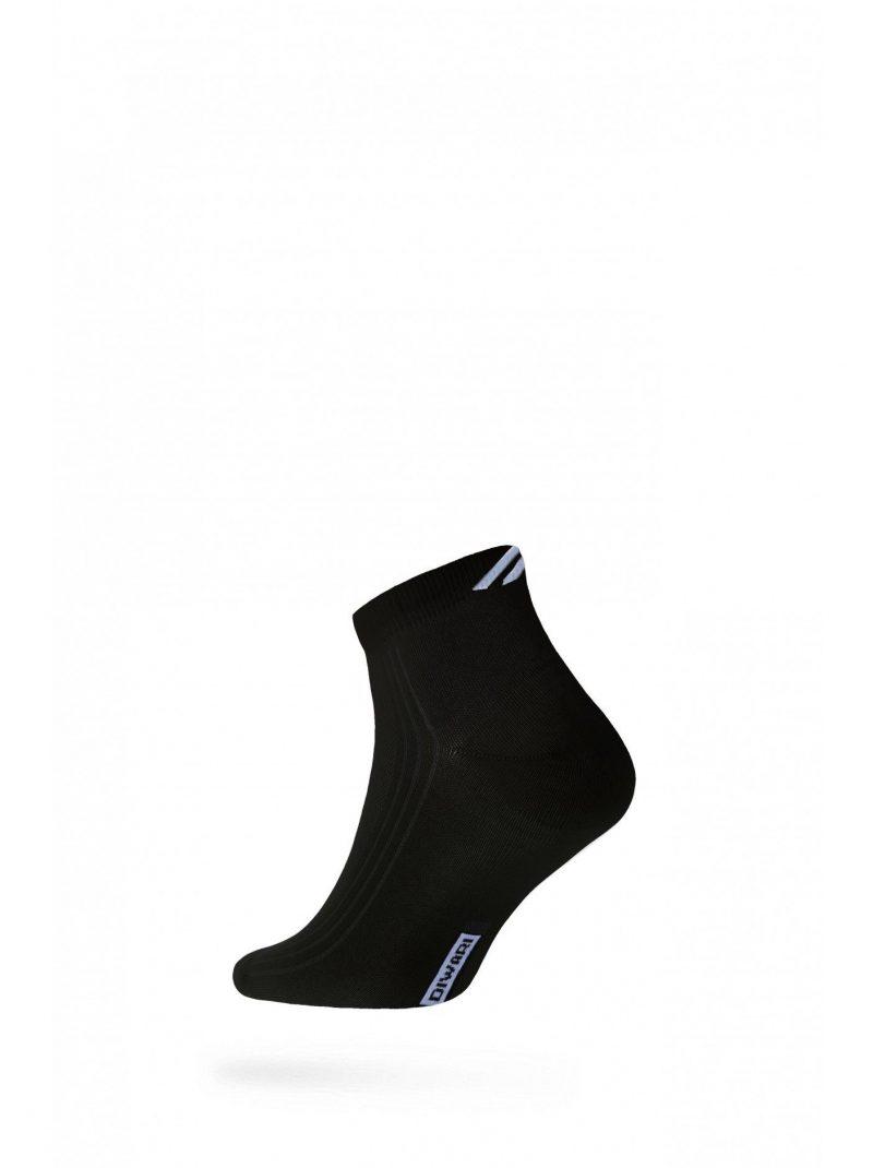 DIWARI Active 018 half-hoge sneakersokken voor heren zwart