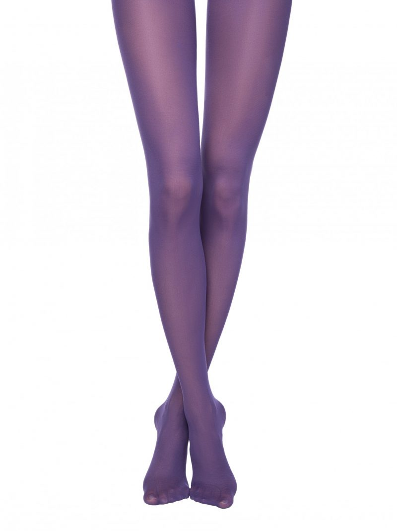 gekleurde panty in 50 denier Conte Colours Top violet