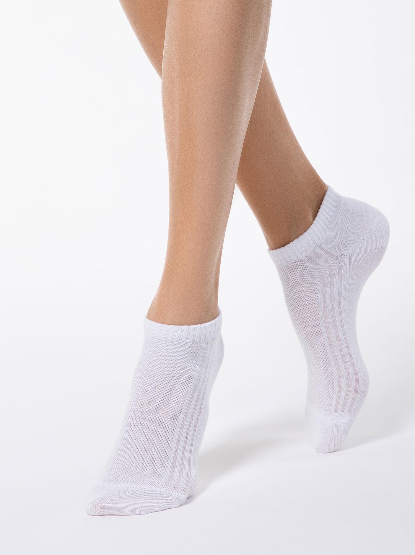 f873955955da91 Conte Classic sneakersokken voor dames wit