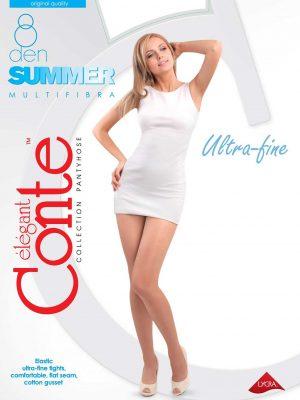 Zomerpanty 8 denier ultra dunne panty voor de zomer Conte Summer