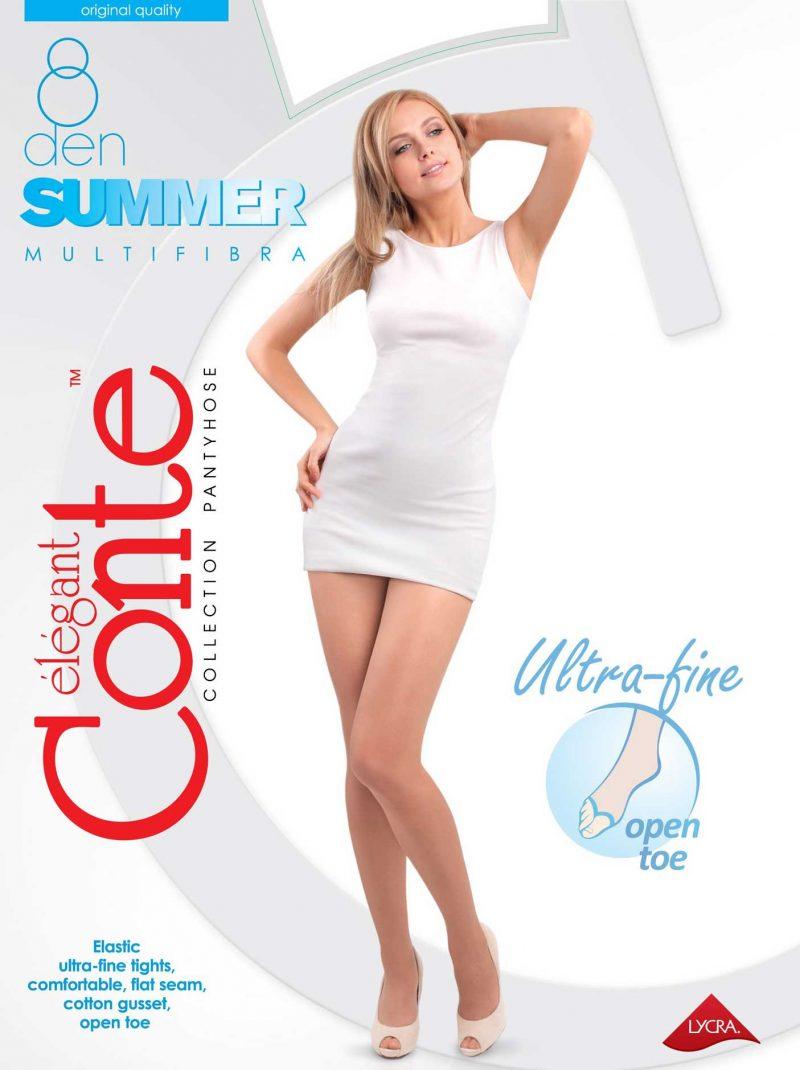 8 denier panty teenloos voor de zomer Conte Summer